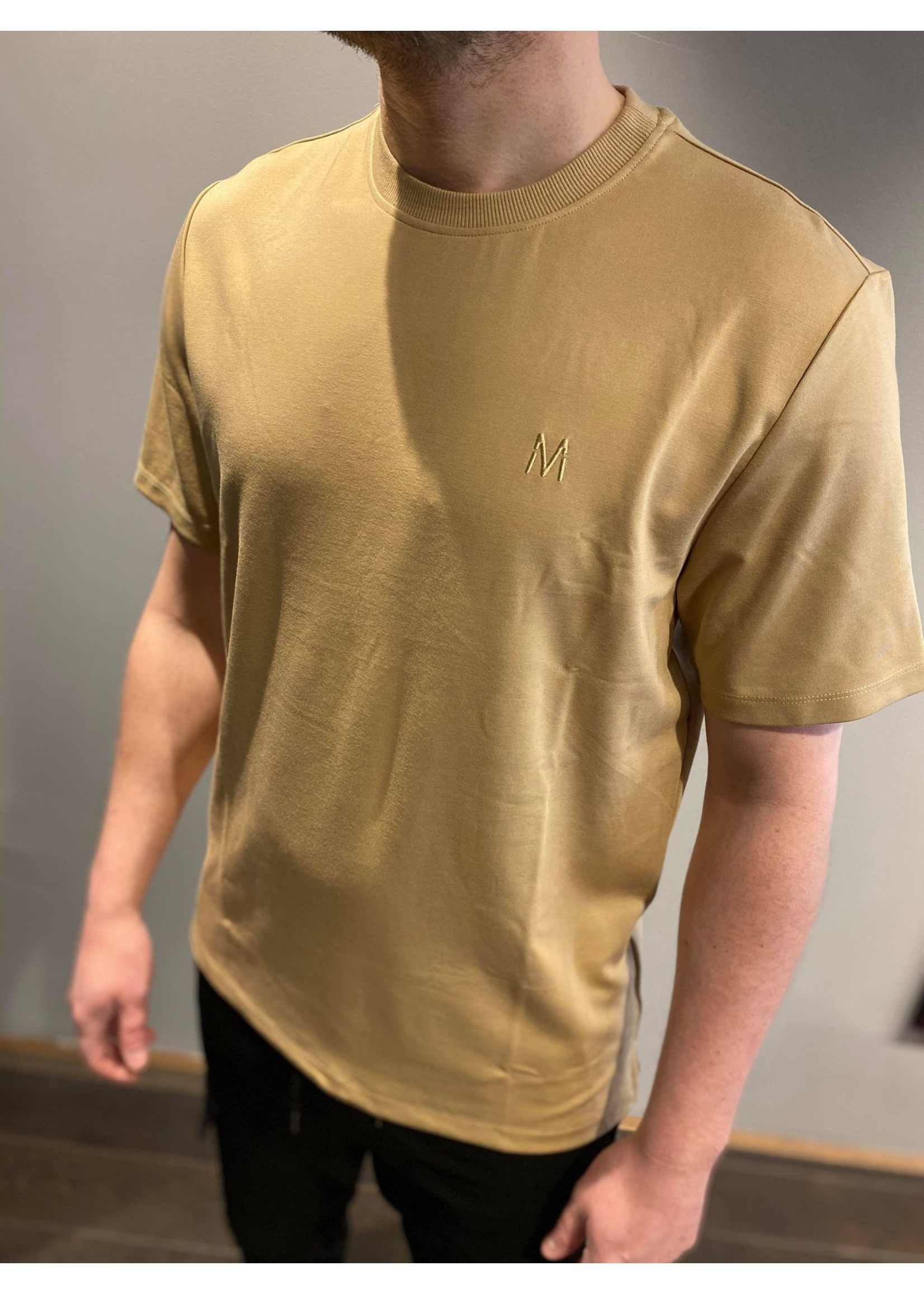 MARCH THE LABEL Basic Tee - Camel