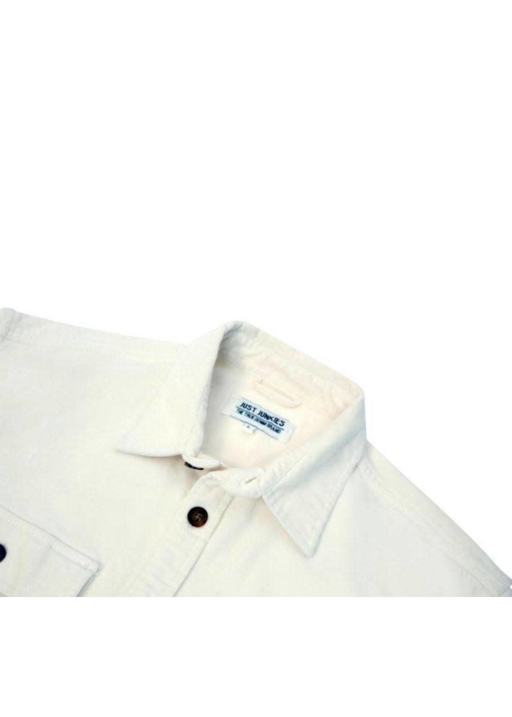 Just Junkies JUST JUNKIES | Haza Overshirt - Off White