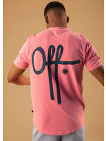 OFF THE PITCH OFF TH PITCH The Illuminated 2.0 Tee - Pink