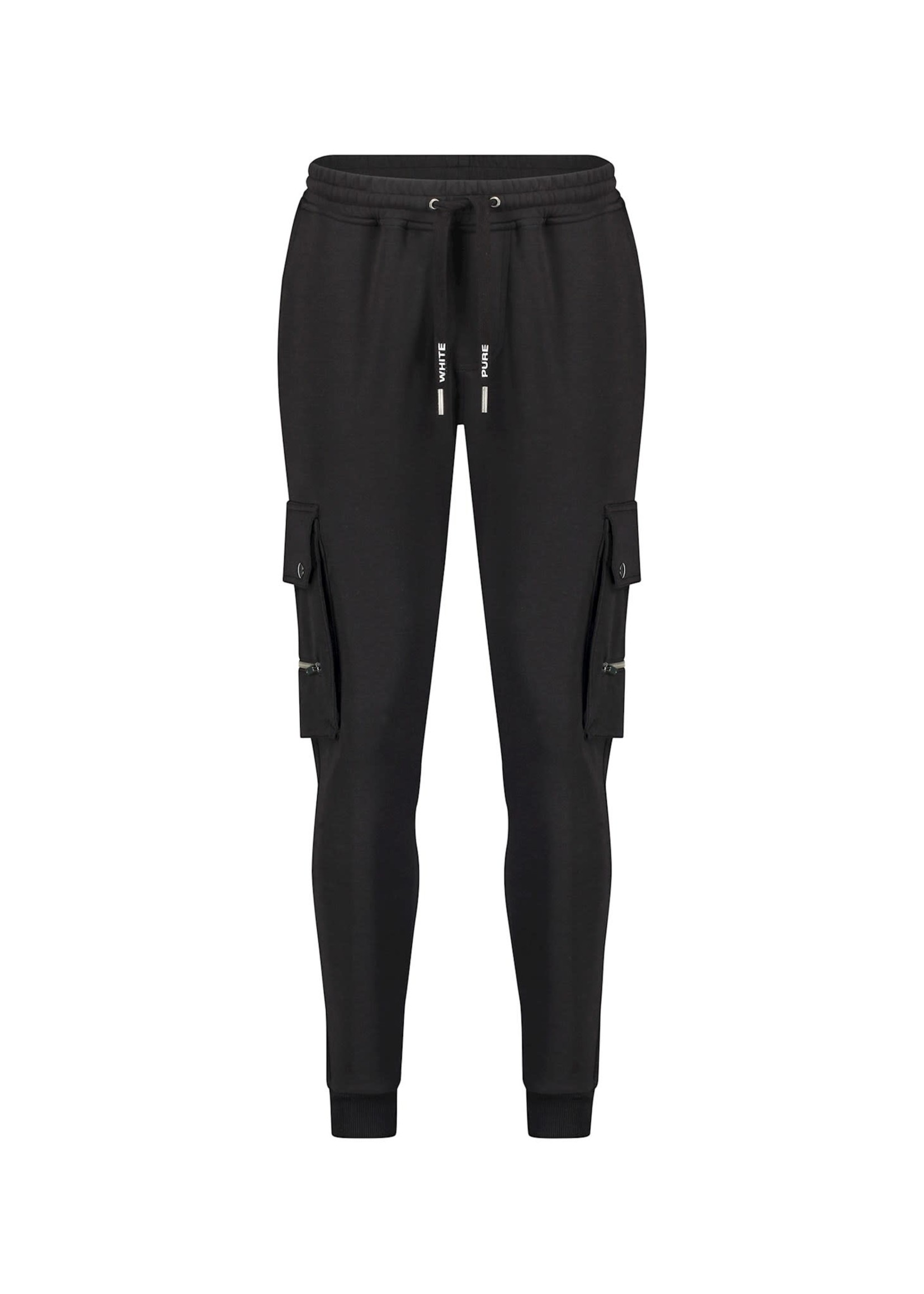 Purewhite Utility Pocket Sweatpants - Black