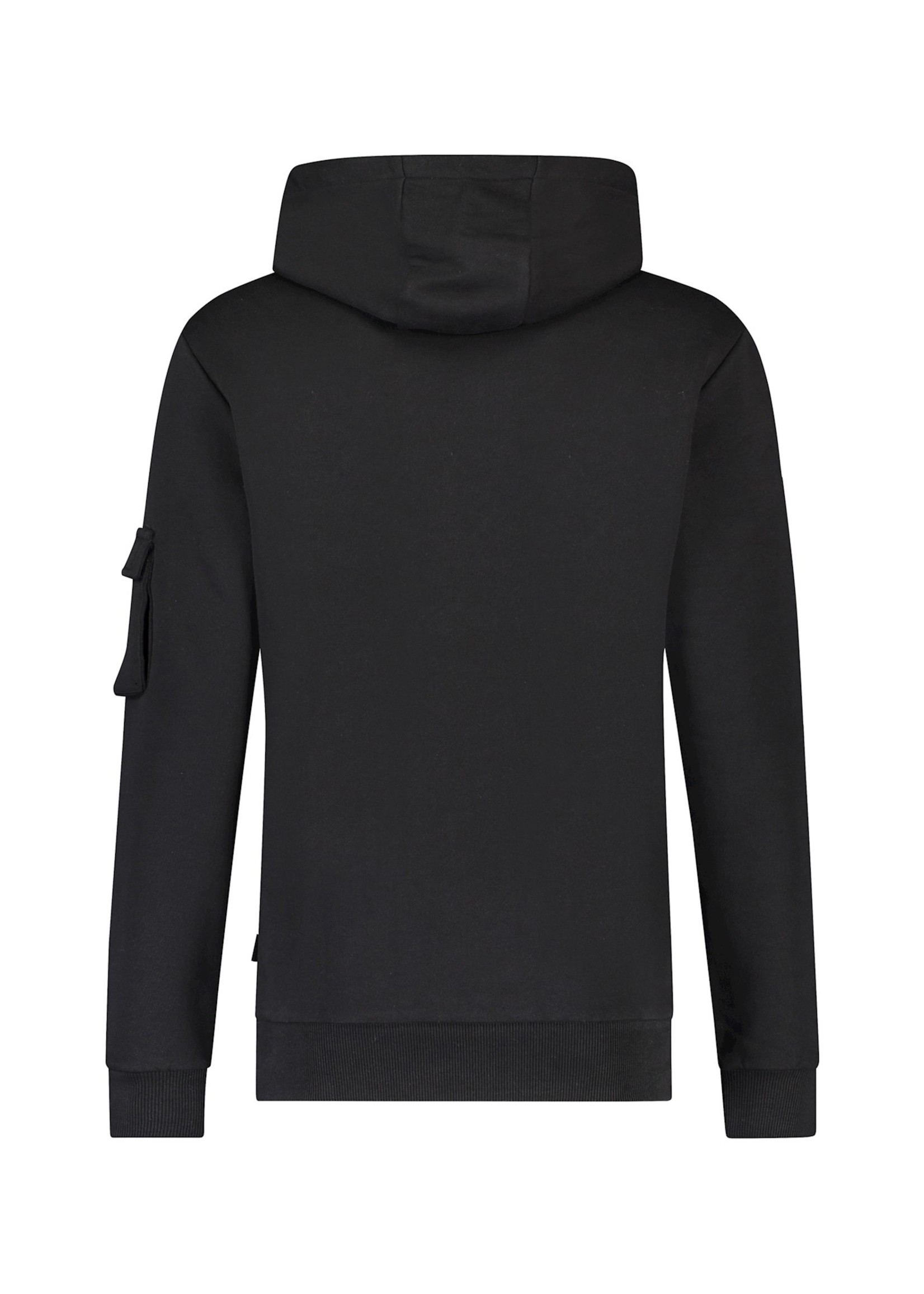 Purewhite Utility Pocket Hoodie - Black