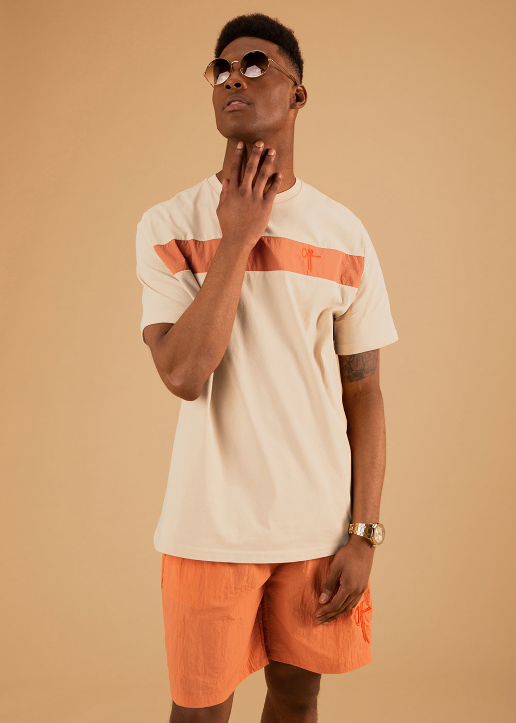 OFF THE PITCH The Comet Short - Orange