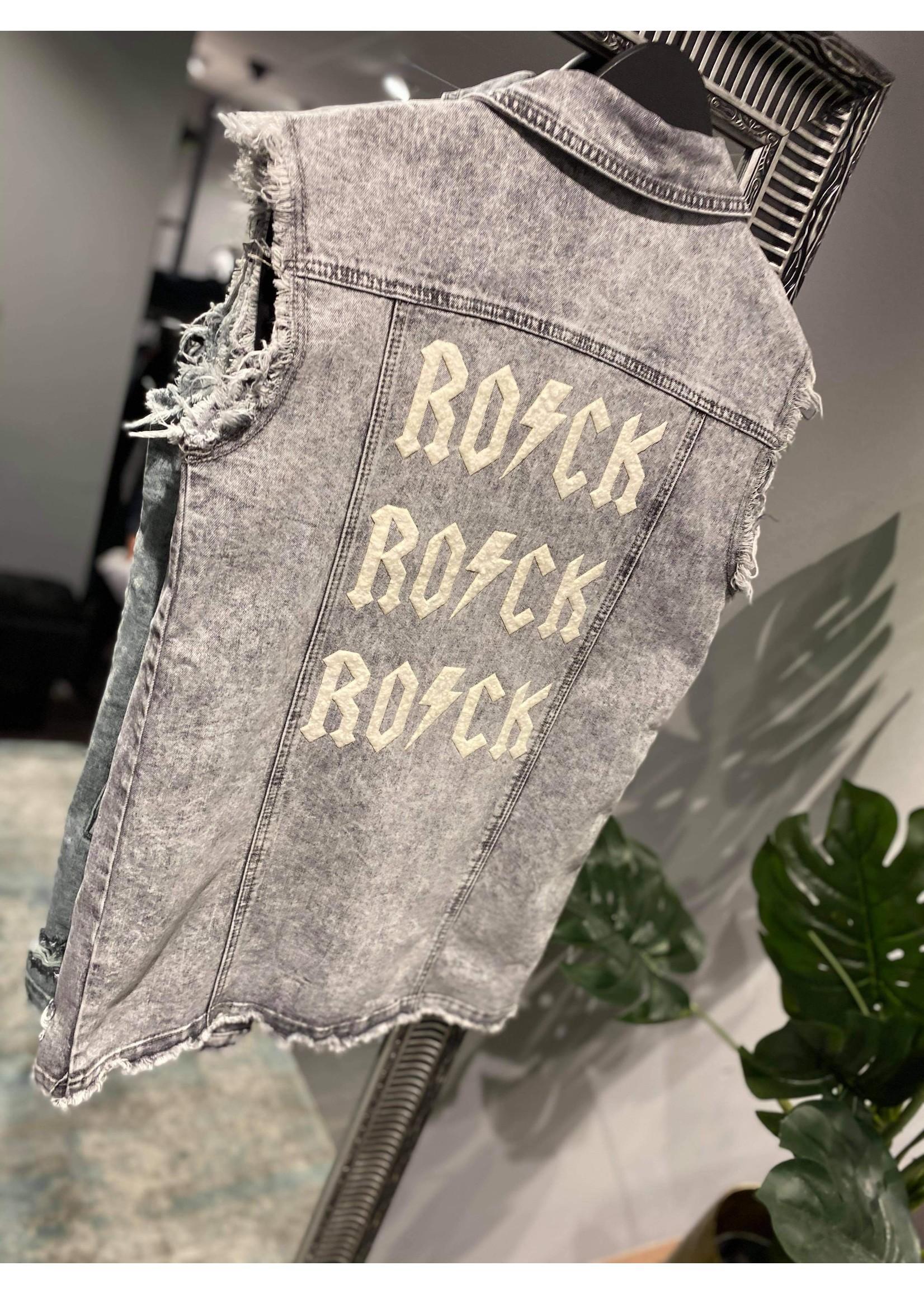 Denim Gilet Rock