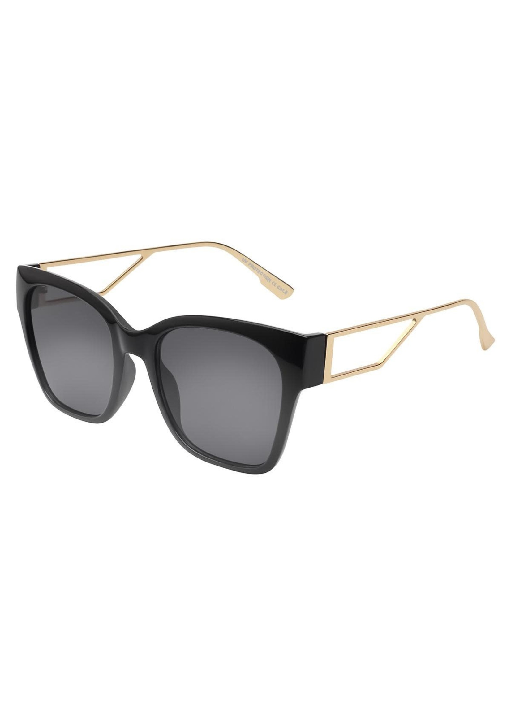 London Sunglasses Black