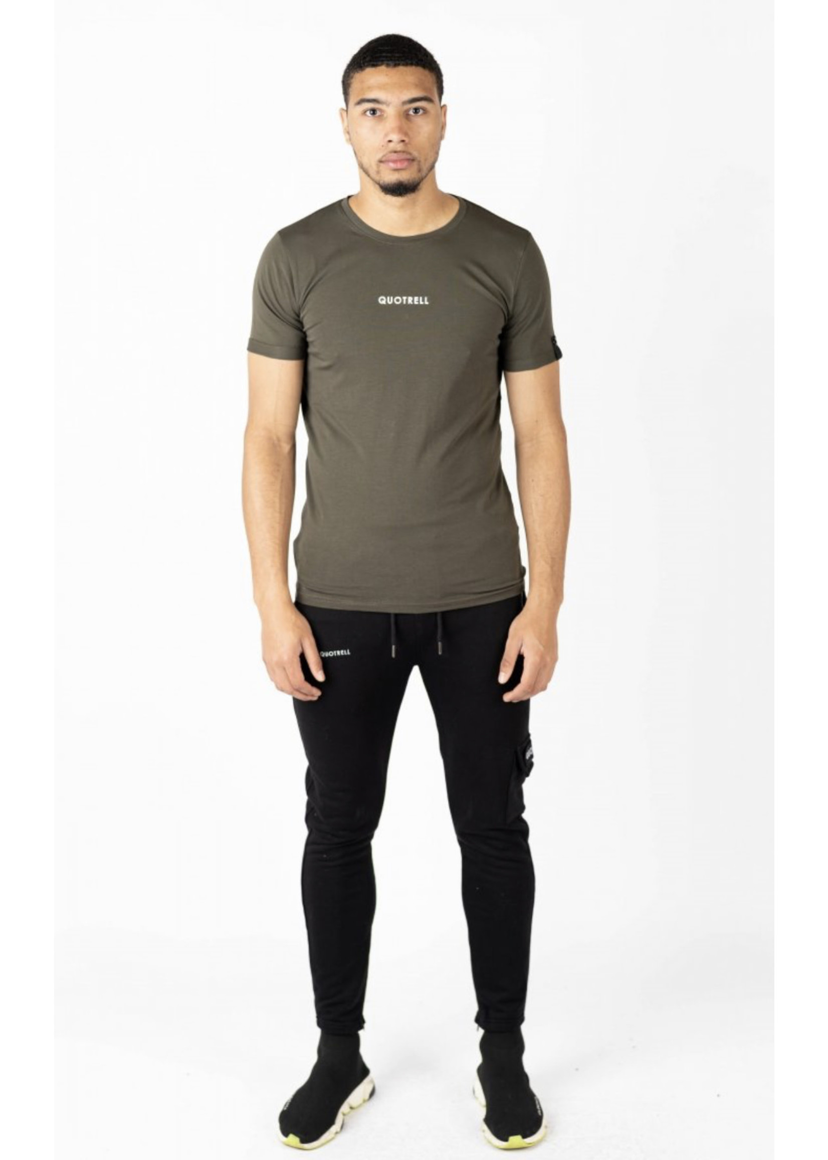 Quotrell QUOTRELL Wing Tee 2.0 - Army