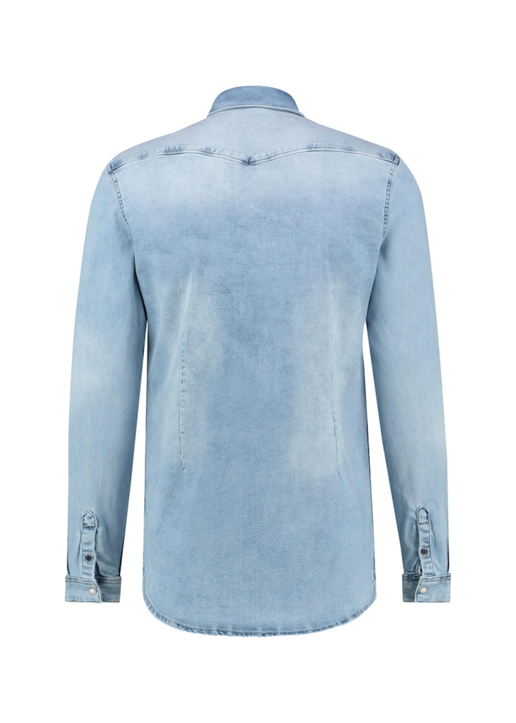 Purewhite Denim Shirt - Light Blue