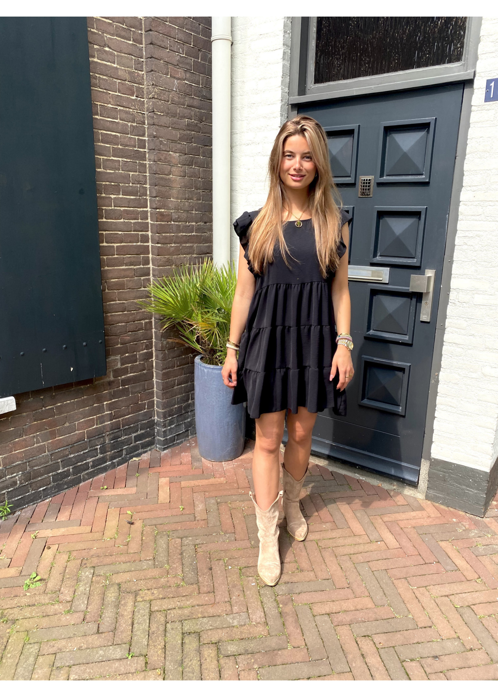 Nyna Dress Zwart