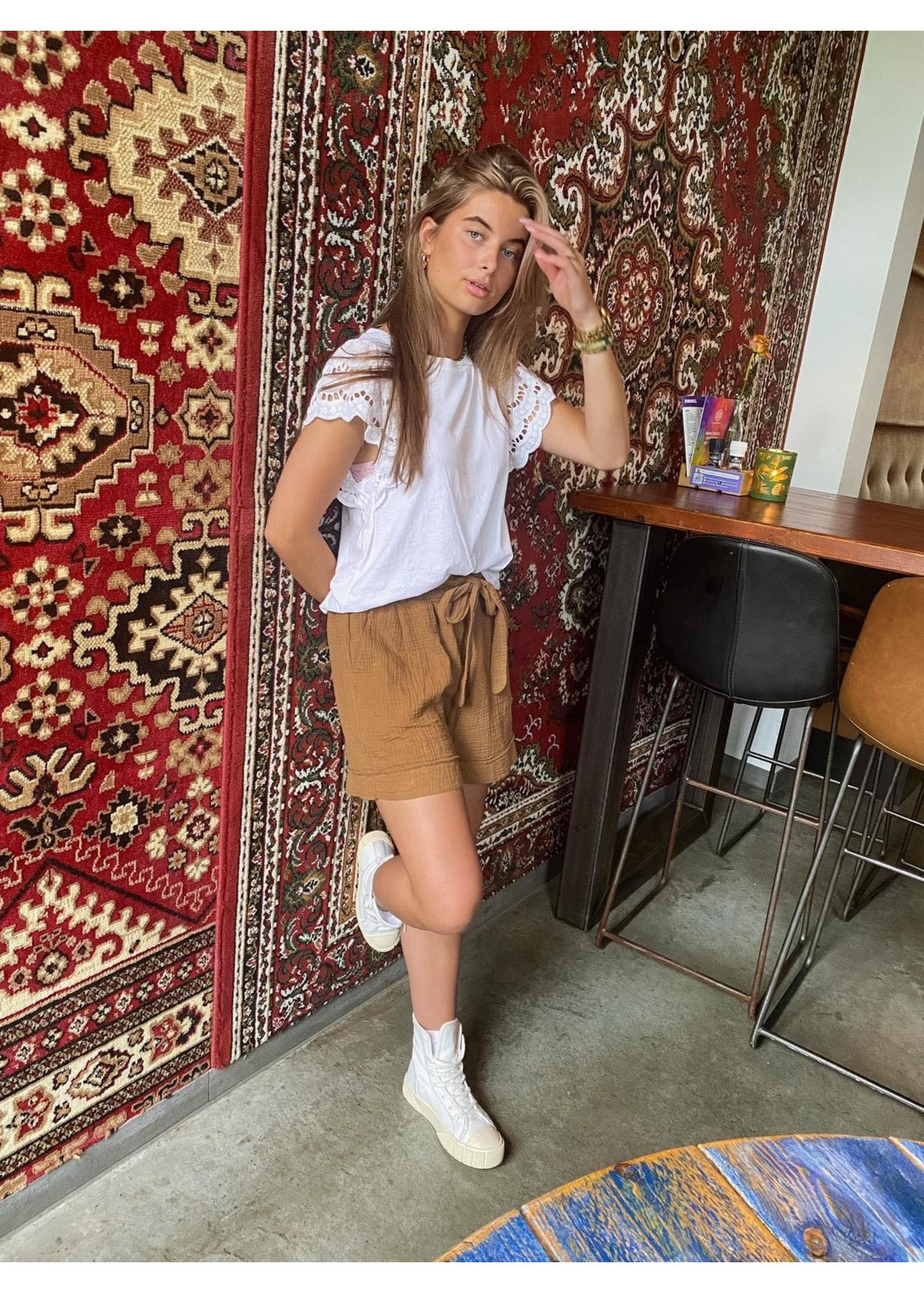 Celine Short Brown