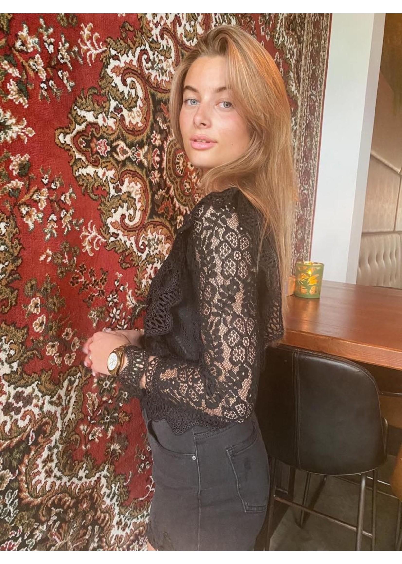 Eve Kanten Top - Black