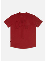 OFF THE PITCH The Soul Slim Fit Tee - Dark Red