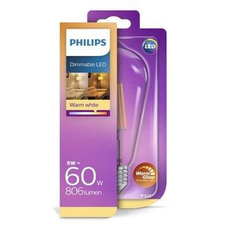 Philips LED-lamp 8W (60W)
