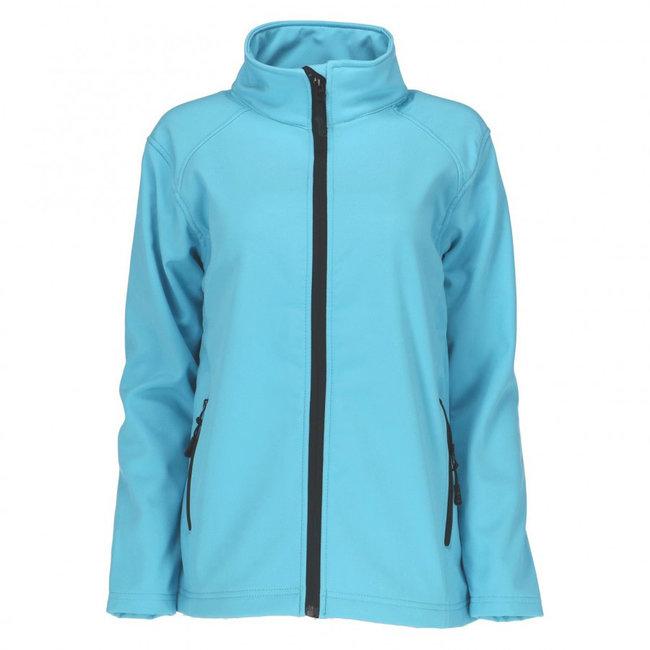 Uniwear Softshell Jas Turquoise