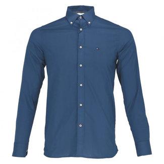 Tommy Hilfiger Overhemd Alan Blauw