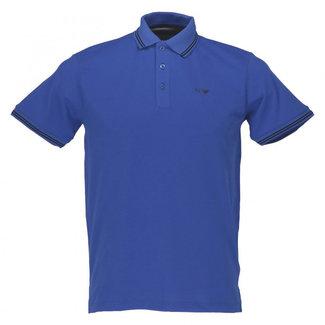 Armani Jeans Polo Kobaltblauw