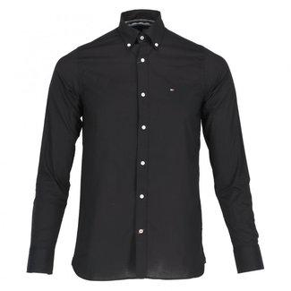 Tommy Hilfiger Overhemd Alan Zwart
