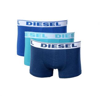 Diesel 3-pack Boxershorts Blauw