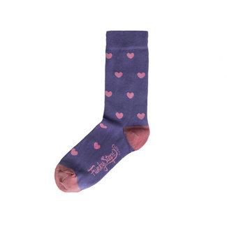 Funky Steps Sokken Paars