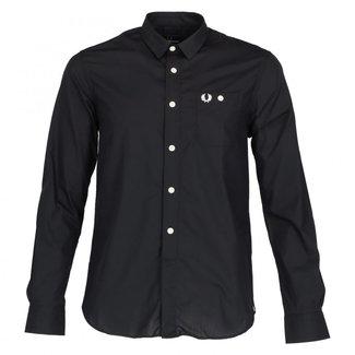 Fred Perry Overhemd Zwart