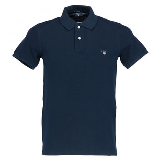 Gant Polo Donkerblauw