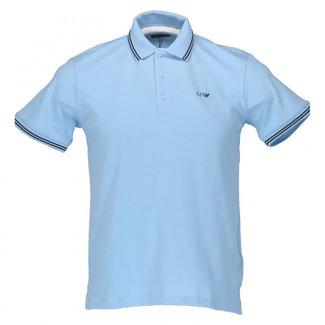Armani Jeans Polo Lichtblauw