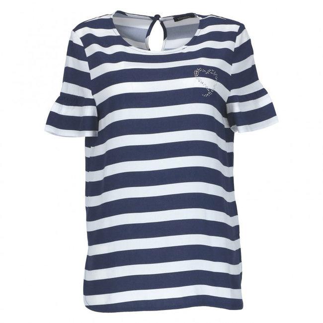 Vivance Dreams Shirt Wit/Blauw