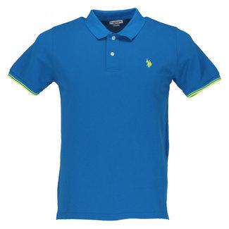U.S. Polo Assn. Polo Blauw