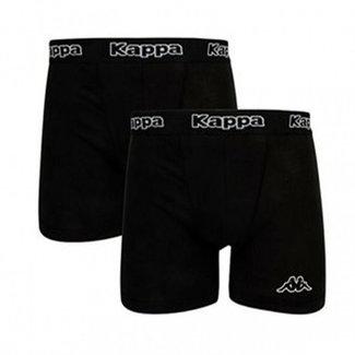Kappa 2-pack boxershorts zwart