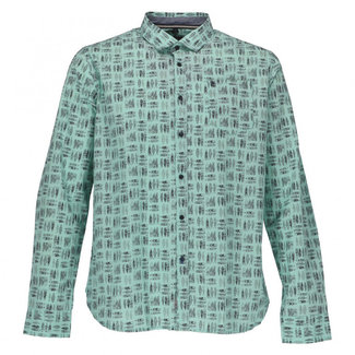 Twinlife Overhemd groen