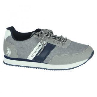 U.S. Polo Assn. Sneakers Tiber Grijs
