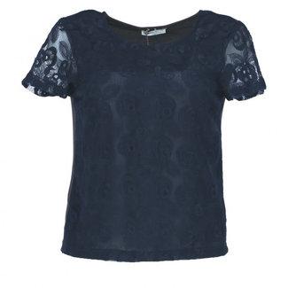 Lavand Shirt Donkerblauw