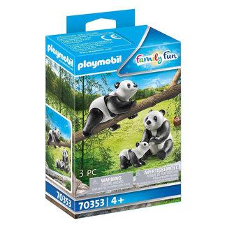 Playmobil Family Fun Panda's - 70353