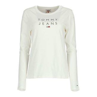 Tommy Jeans Longsleeve Wit