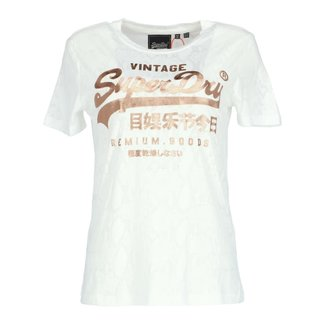 Superdry T-shirt Wit