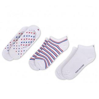 Tommy Hilfiger 3-pack Sokken Wit