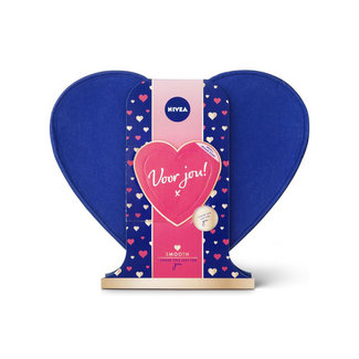Nivea Giftset Smooth Blue - 3 producten