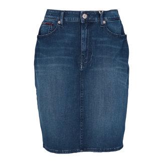 Tommy Jeans Jeansrok Blauw