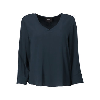 Object Shirt Bay Donkerblauw