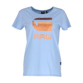 G-Star T-shirt Lichtblauw