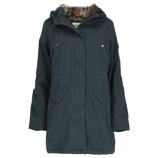 Only Parka Amy Donkerblauw