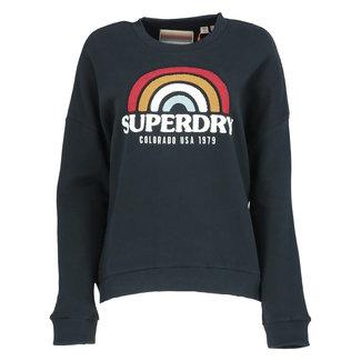 Superdry Sweater Donkerblauw