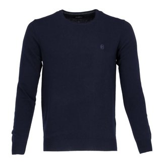 Conte of Florence Pull Fabbri Donkerblauw