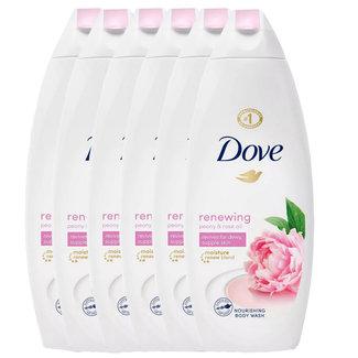 Dove 6-pack Renewing Shower Gel