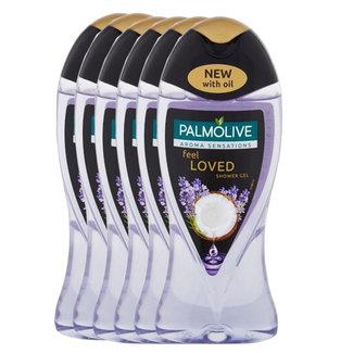 Palmolive 6-pack Aroma Sensations feel Loved shower gel