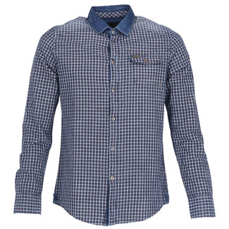 PME Legend Overhemd Donkerblauw