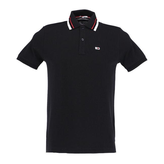 Tommy Jeans Polo Zwart