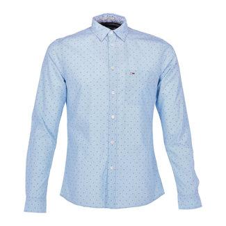 Tommy Jeans Overhemd Lichtblauw