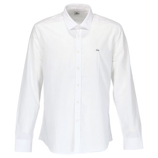 Lacoste Overhemd Wit