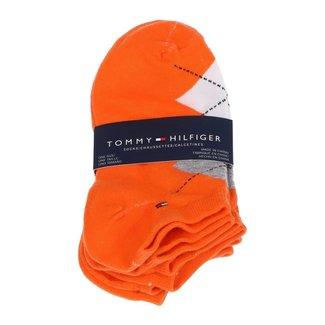 Tommy Hilfiger 3-pack Sokken Oranje