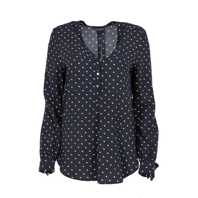 Tommy Hilfiger Blouse Donkerblauw