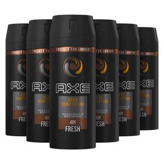 Axe 6-pack Dark Temptation Deodorant & Bodyspray